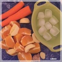 préparation jus de fruits lolomix thermomix