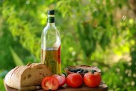 Ingredients of the kitchen mediterranean.