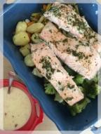 saumon lolomix beurre blanc thermomixr