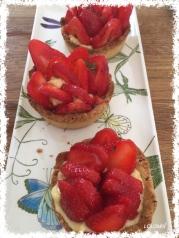 tarte aux fraises thermomix Fotor