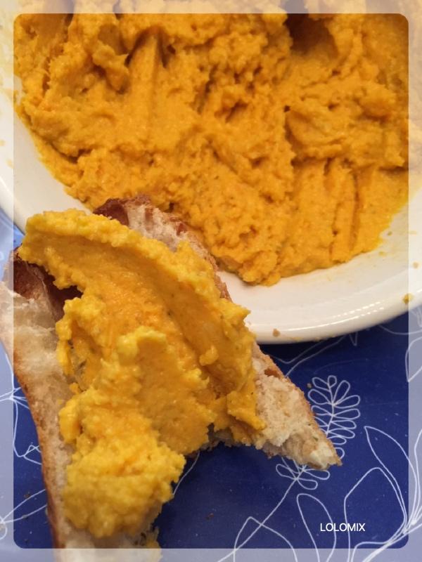 Houmous de carottes thermomix lolomix_Fotor