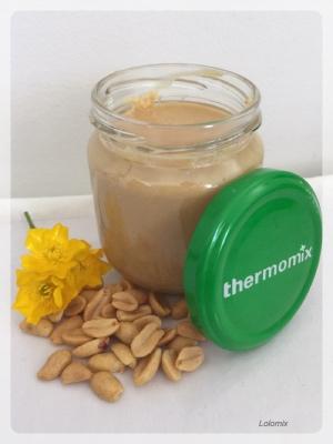 beurre de cacahuètes lolomix thermomix