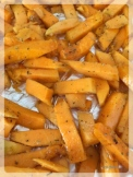 Frites de courge lolomix thermomix